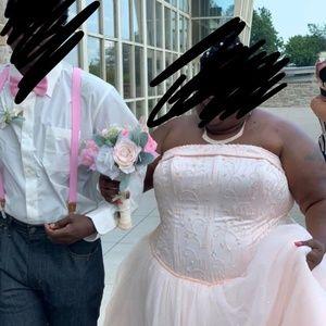 Afforable Plus Size Wedding Dress